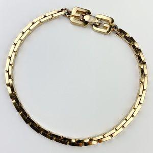Givenchy Rare Vintage Gold Bracelet